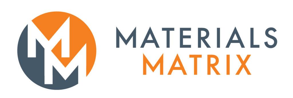 Materials matrix logo. The Materials Matrix Podcast founders